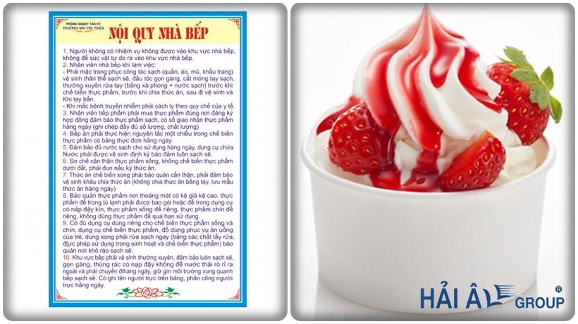 cách quản lý nhân viên của cửa hàng kem