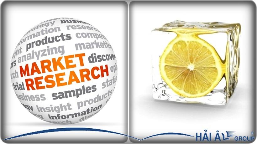 nghiên cứu thị trường kinh doanh đá viên hiệu quả