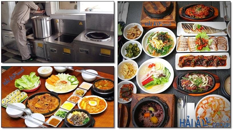 bếp từ công nghiệp đa dạng về mẫu mã