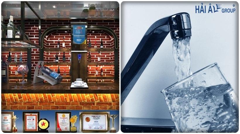 nguồn nước sạch cho máy đun nước nóng công nghiệp