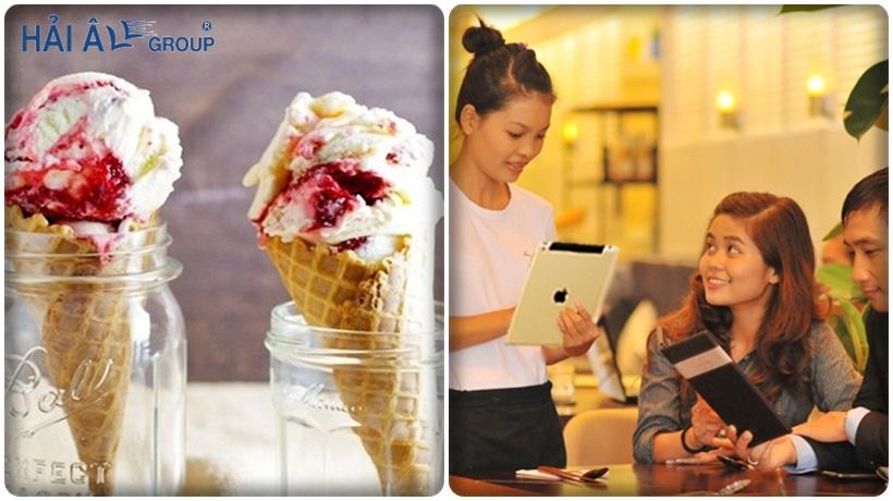 trách nhiệm quản lý cửa hàng kem
