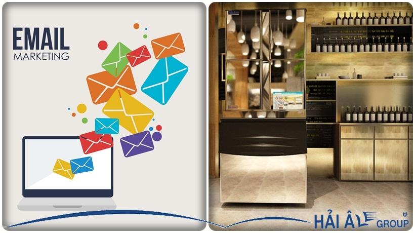 quảng cáo email marketing cho máy làm đá
