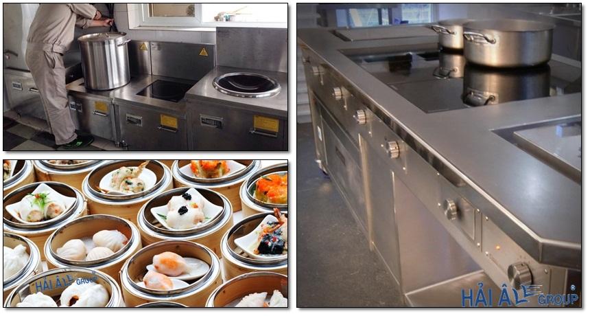 2 loại bếp từ công nghiệp dương và âm bàn