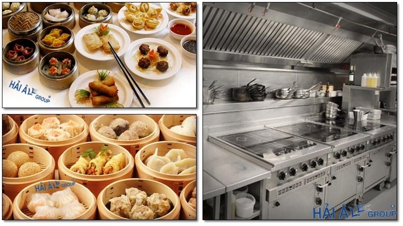 hệ thống bếp điện từ công nghiệp